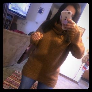 Brown oversized sweater